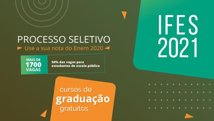 Ifes lança edital do Sisu com vagas em cursos superiores