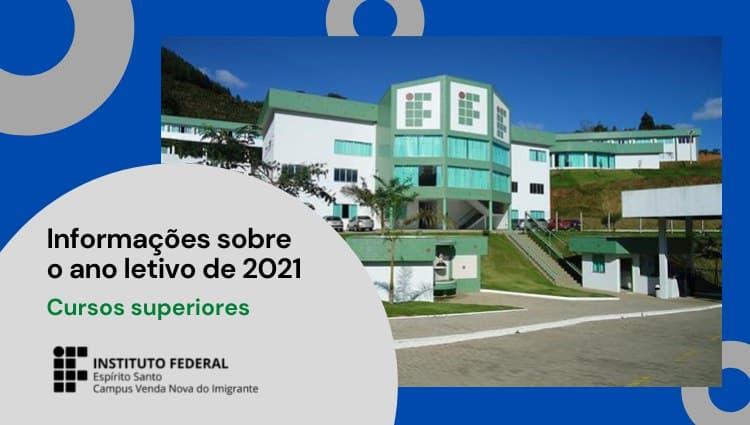 Cursos Superiores - Ano letivo 2021: Acesse e acompanhe!